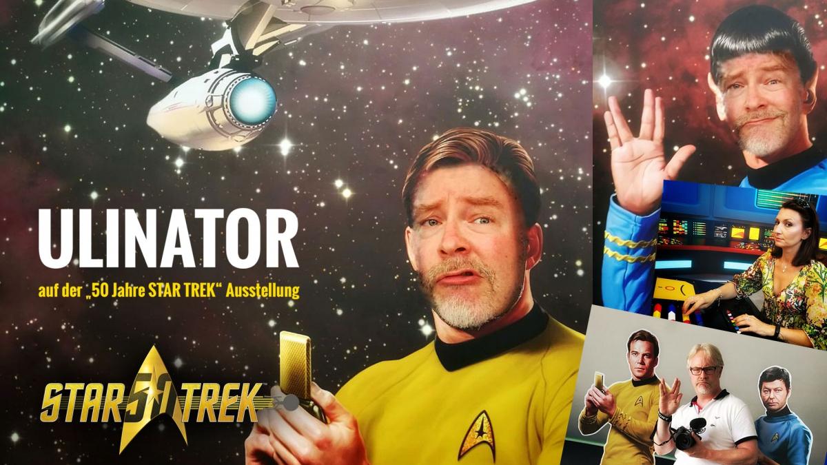 Titelbild für das Video von der Star Trek Ausstellung