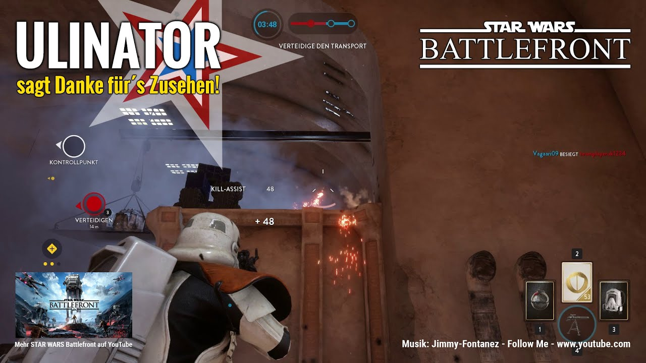 Embedded thumbnail for STAR WARS BATTLEFRONT - Viel Blödsinn mit dem Rode NT-USB