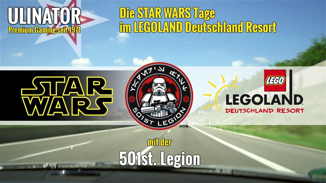 Embedded thumbnail for Die STAR WARS Tage im LEGOLAND